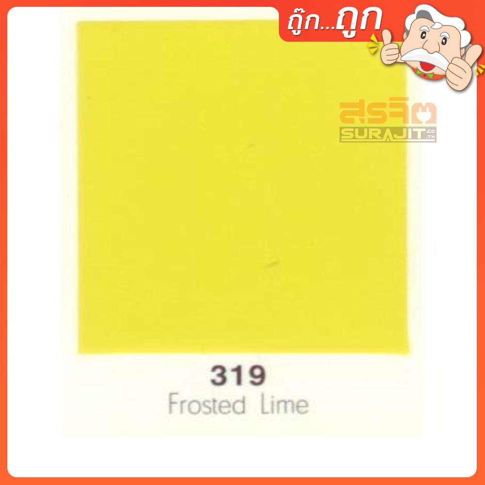 CAPTAIN สีเคลือบเงา#319 Frosted Lime